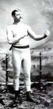 Boxer John L. Sullivan.